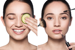 beauty skincare photography