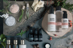 Luxury eco cosmetic product photographer in Birmingham